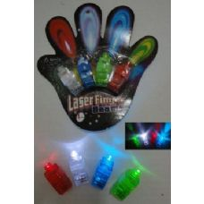 48 Units of 4pc Finger Lights - Glow In The Dark Items