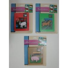 36 Units of Farm Animal Slide Puzzle - Puzzles