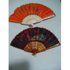 40 Units of Folding Cloth Fan - Home Decor