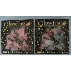 216 Units of Glow In the Dark Butterflies-Color - Glow In The Dark Items