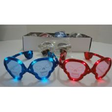 240 Units of Light Up Glasses-Skulls - Novelty & Party Sunglasses