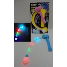 192 Units of Light Up Hand Held Spinning Wand - Glow In The Dark Items
