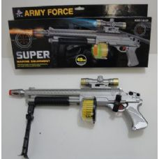 36 Units of Sound Effect Army Force Gun - Toy Weapons