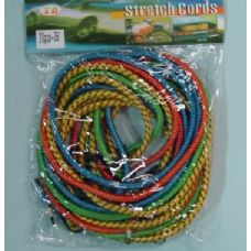 "24 Units of 10pcs 36"" Bungee Cord - Rope and Twine"