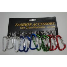 """36 Units of 2"""" Key Chain Clips-Screw Close - Key Chains"""