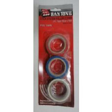 120 Units of 3pc Colored Electric Tape - Tape