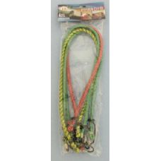 24 Units of 4pcs Bungee Cord - Rope and Twine