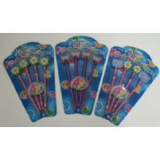 36 Units of 4pc Butterfly/Flower Pencils - Pencils