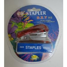 144 Units of Mini Stapler with Staples - Staples and Staplers