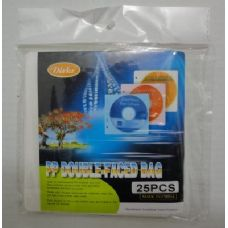 48 Units of 25pc Double-Faced Bag for CD/DVD - CD and DVD Accessories