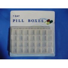 72 Units of 28 Slot Pill Box - Pill Boxes and Accesories