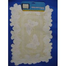 "36 Units of 2pc Lace Placemat 13""X18"" - Placemats"