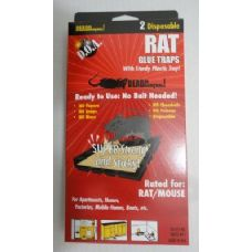72 Units of 2pk Rat Glue Trap - Pest Control