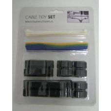 168 Units of Cable Tidy Set - Cables and Wires