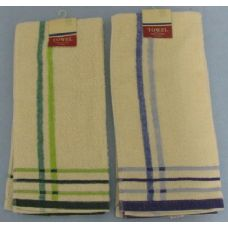 72 Units of 1pc Kitchen Towel -Plaid Lines - Kitchen Towels