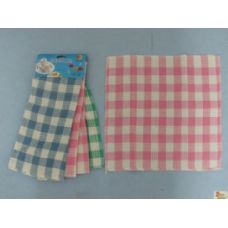 36 Units of 3pk Dish Cloth-Gingham - Kitchen Towels