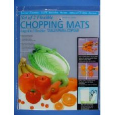 "36 Units of Set of 2 15""x12"" Flexible Chopping Mats - Cutting Boards"