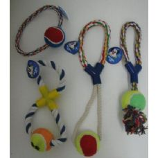 36 Units of Rope Pet Toy Assortment - Pet Toys
