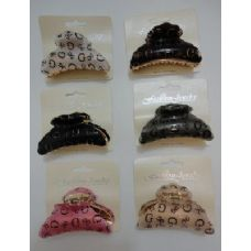 "72 Units of 3.5"" Claw Clip--""G"" - Hair Accessories"