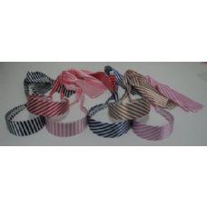 72 Units of Headband Scarves-Stripes - Headbands