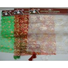 48 Units of 15x71 Christmas Table Runner