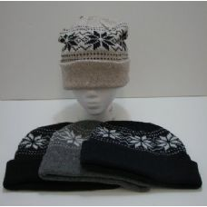 120 Units of Knit Snowflake Toboggan