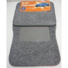 6 Units of 4pc Car Mats-Silver - Auto Sunshades and Mats