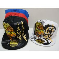 72 Units of Fitted Hat--Tiger - Baseball Caps & Snap Backs