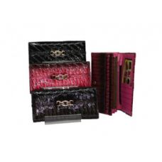 96 Units of Womans Fold Over Wallet - Wallets & Handbags