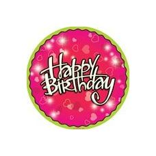 "144 Units of Birthday Love 9"" Plate - 8CT. - Party Paper Goods"