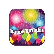 "144 Units of  Birthday Blast 9"" Plate - 8CT. - Party Paper Goods"