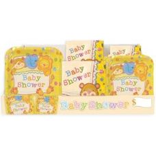 Baby Shower Pre-Packed Counter Shipper, 96 Ct. - Party Paper Goods