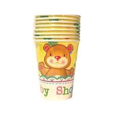 72 Units of Baby Shower Cups - 8Ct. - Party Paper Goods