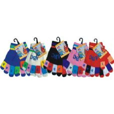 120 Units of Kids Magic Glove With Hot Stamp - Winter Gloves