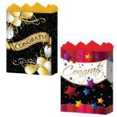 "144 Units of Congrats Assortment 3 Asst. Jumbo 13"" x 18"" x 4"" - Gift Bags Assorted"