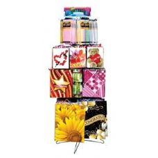 1 Units of Spring Gift Bags & Tissue Floor Shipper 162 Ct.