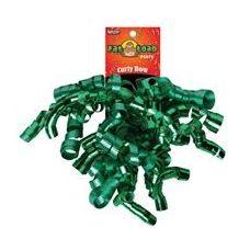 192 Units of Curled Ribbon Bow - Emeralds, Pegable Single - Bows & Ribbons