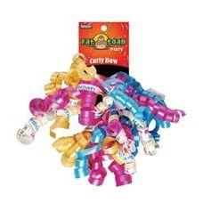 192 Units of Curled Ribbon Bow - Birthday, Pegable Single - Bows & Ribbons