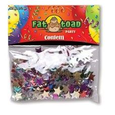 432 Units of Confetti-Colored Stars - 1/2 oz - Party Misc.