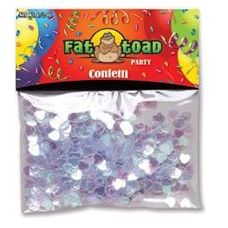 432 Units of Confetti-Pearlized Hearts - 1/2 oz - Party Misc.