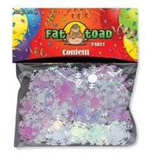 432 Units of Confetti-Iridescent Snowflakes - 1/2 oz - Party Misc.