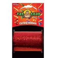 144 Units of Curling Ribbon - Red Sparkle - 20yds - Bows & Ribbons