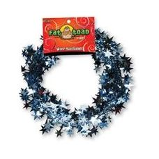 288 Units of Wire Garland - Light Blue Stars - 25 Ft. - Bows & Ribbons