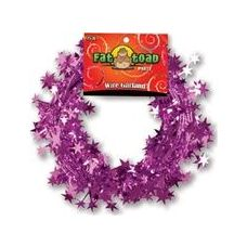 288 Units of Wire Garland - Pink Stars - 25 ft. - Bows & Ribbons