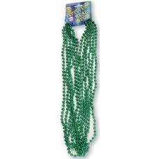 "120 Units of Festive Beads - 33"" Green - 6 CT - Party Favors"