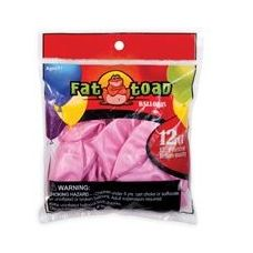 """144 Units of 12CT 12"""" Pearlized-Pink - Balloons/Balloon Holder"""