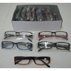 40 Units of Reading Glasses-Wide Rim SQUARE - Reading Glasses