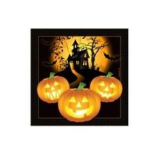 288 Units of Haunted House Beverage Napkins - 16CT.