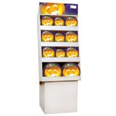 Pumpkin Grins Pre-Packed Floor Shipper, 156 Ct.