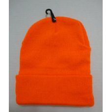 48 Units of Hunter Orange Toboggan Winter Hat